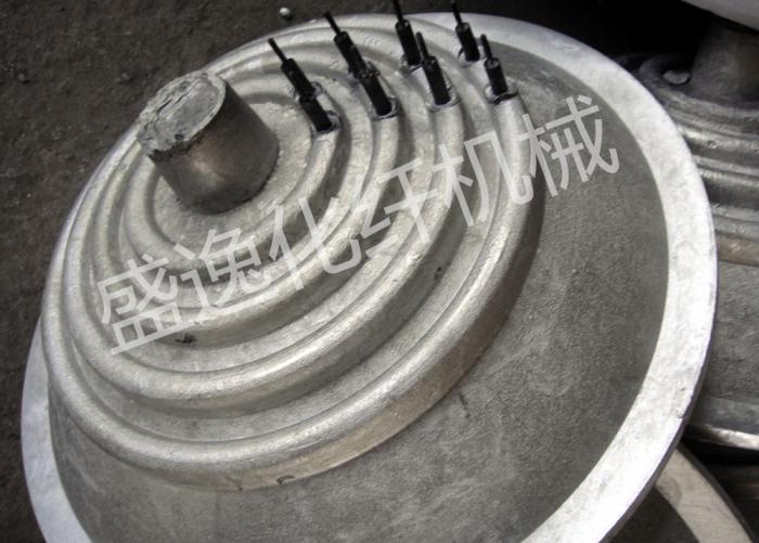 封头式金属铸造加热器