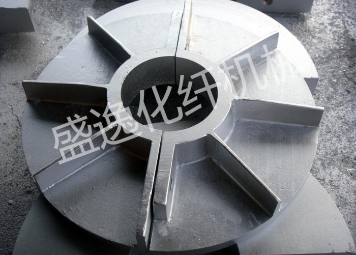 风机轴铝散热块